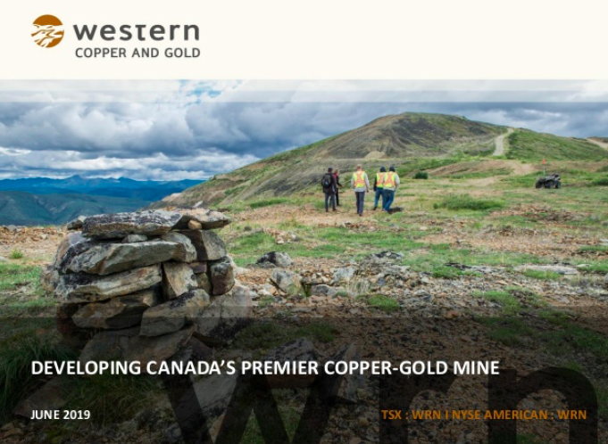 Western Copper and Gold Corp. Presentation Thumbnail Image